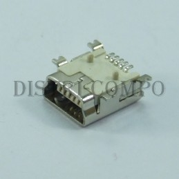 Embase mini USB 5 pins...