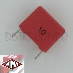 Condensateur MKS4 1µF 50VDC...