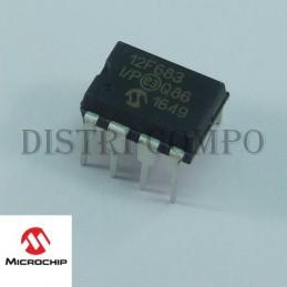 PIC12F683-I/P MCU 8 bits...