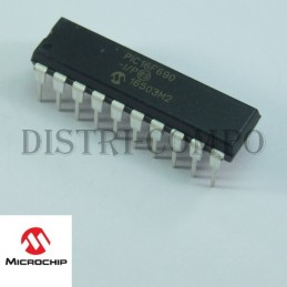 PIC16F690-I/P MCU 8 bits...