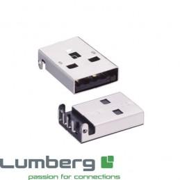 Embase USB Type A mâle pour...