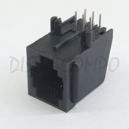 Connecteur modular RJ12 6/6...