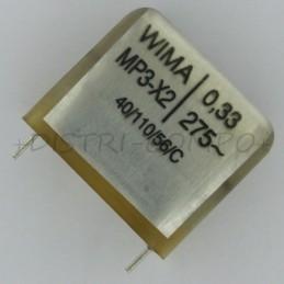 Condensateur MP3-X2 330nF...