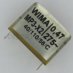 Condensateur MP3-X2 470nF...