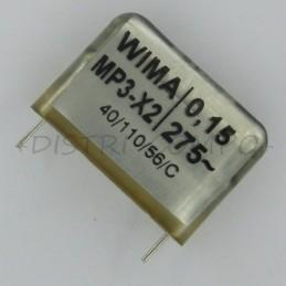 Condensateur MP3-X2 150nF...