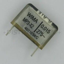 Condensateur MP3-X2 15nF...