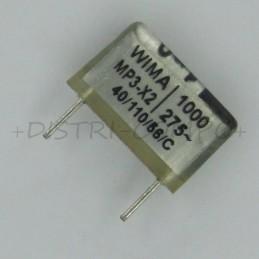 Condensateur MP3-X2 1nF...