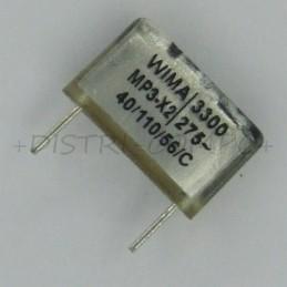 Condensateur MP3-X2 3.3nF...