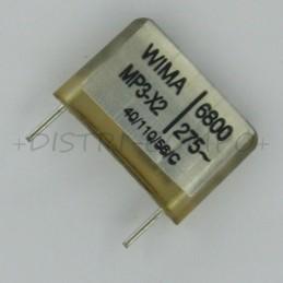 Condensateur MP3-X2 6.8nF...