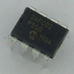 24FC02-I/P EEPROM Serial...