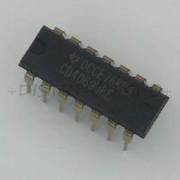4069 - CD4069UBE CMOS Hex...