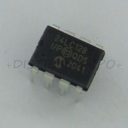 24LC128-I/P EEPROM I2C...
