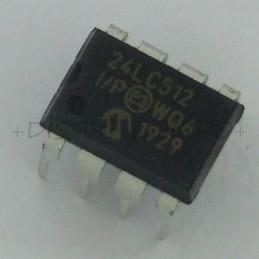 24LC512-I/P EEPROM I2C...