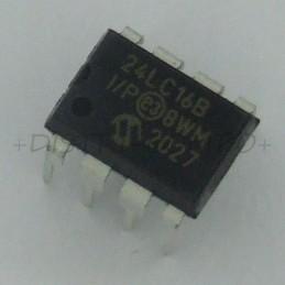 24LC16B-I/P EEPROM I2C...